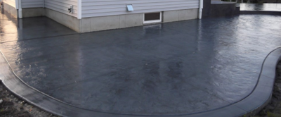 Gray patio in Brentwood, TN.